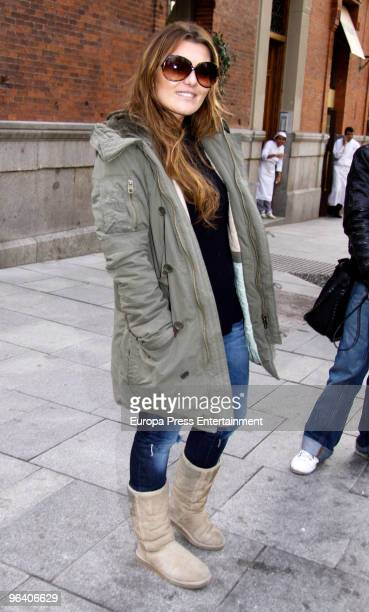 Singer Amaia Montero seen on February 4 2010 in Madrid Spain