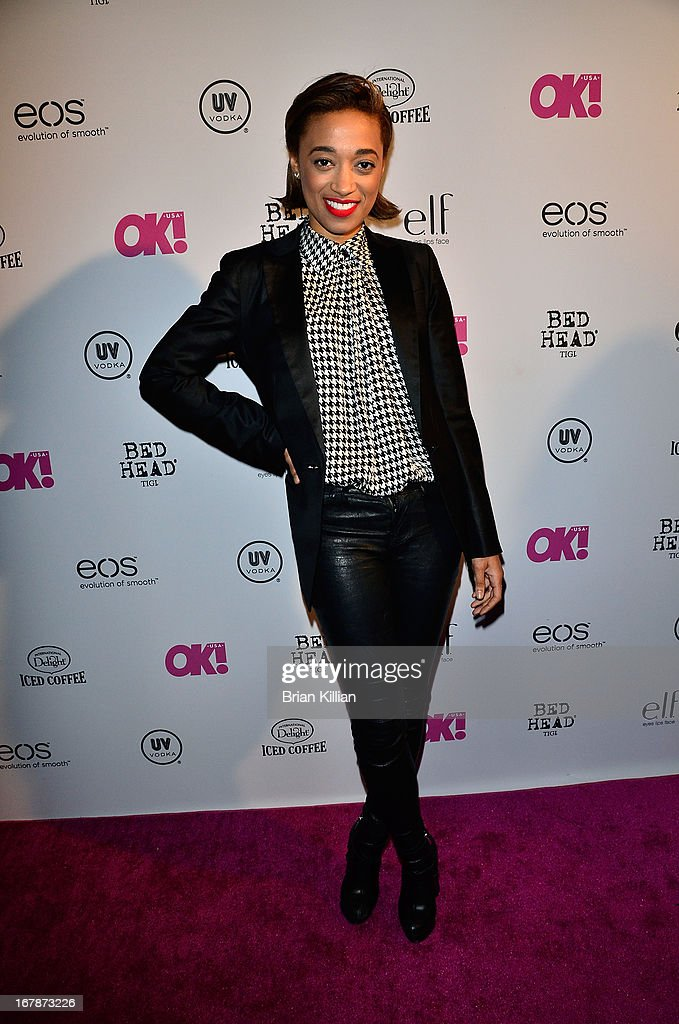 Singer Amanda Brown attends the 2013 OK! Magazine 'So Sexy' Party at Marquee on May 1, 2013 in New York City.