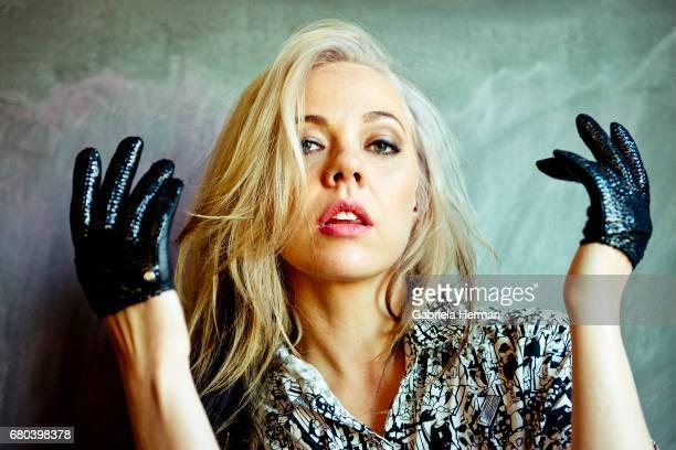 Singer Amanda Lucille Warner aka MNDR is photographed for Billboard Magazine on December 14 2012 in New York City