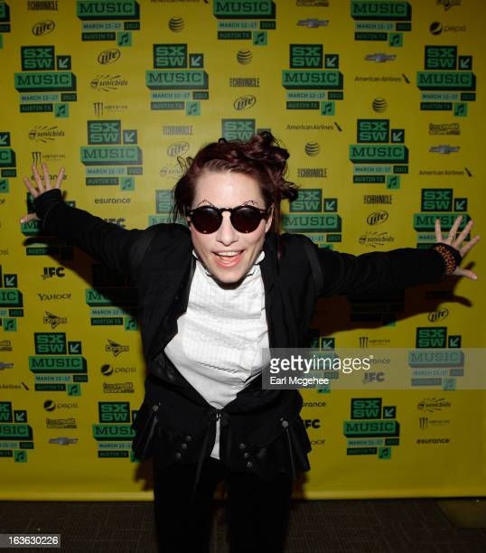Singer Amanda Palmer attends The Anatomy of Amanda Fucking Palmer An Inside Look during the 2013 SXSW Music Film Interactive Festival at Austin...