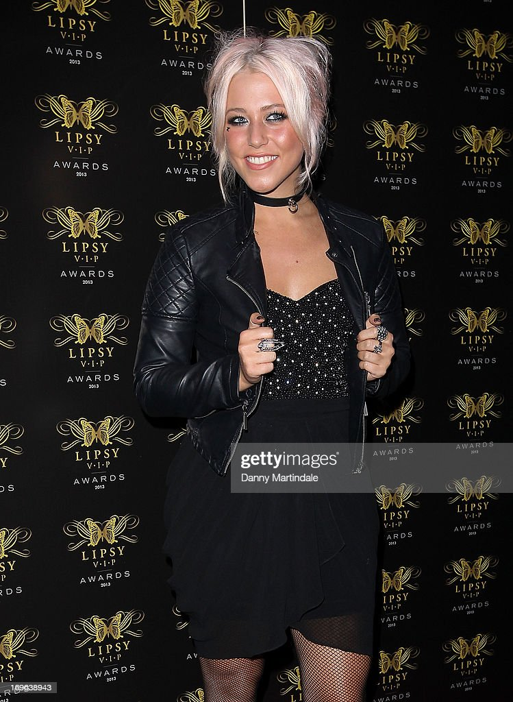 Singer Amelia Lily attends the Lipsy VIP Fashion Awards 2013 at Dstrkt on May 29, 2013 in London, England.