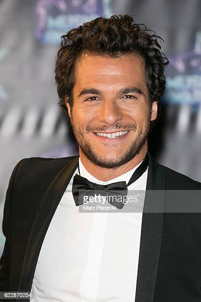 Singer Amir Haddad aka Amir attends the 18th NRJ Music Awards at Palais des Festivals on November 12 2016 in Cannes France
