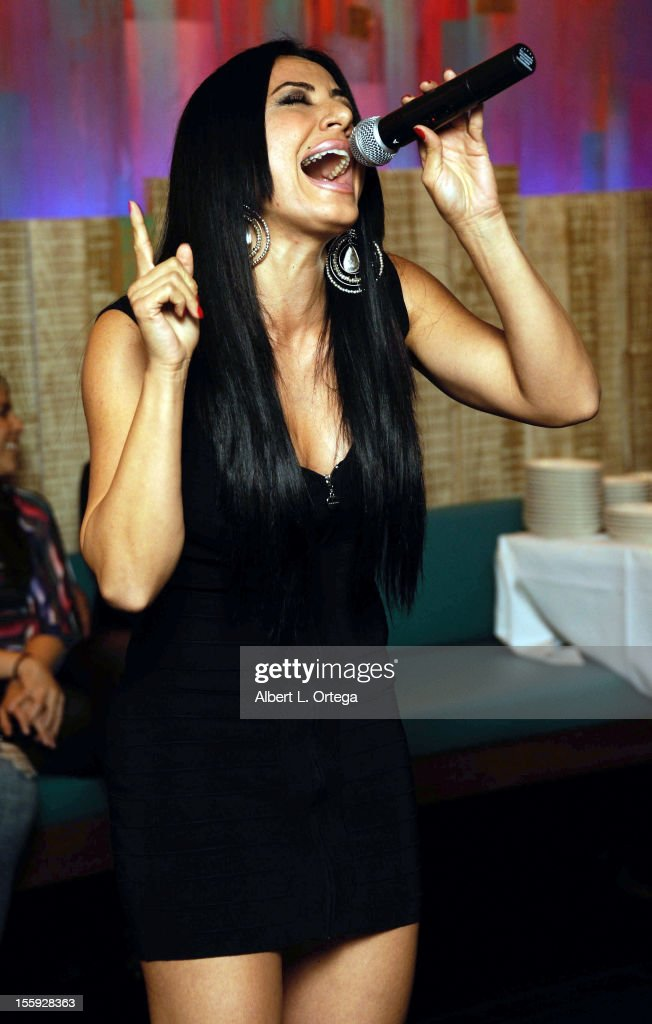 Singer Amira Minassian participates in Food On Foot's 'Hot Latin Nights' held at Casa Azul Cantina on November 8, 2012 in Los Angeles, California.
