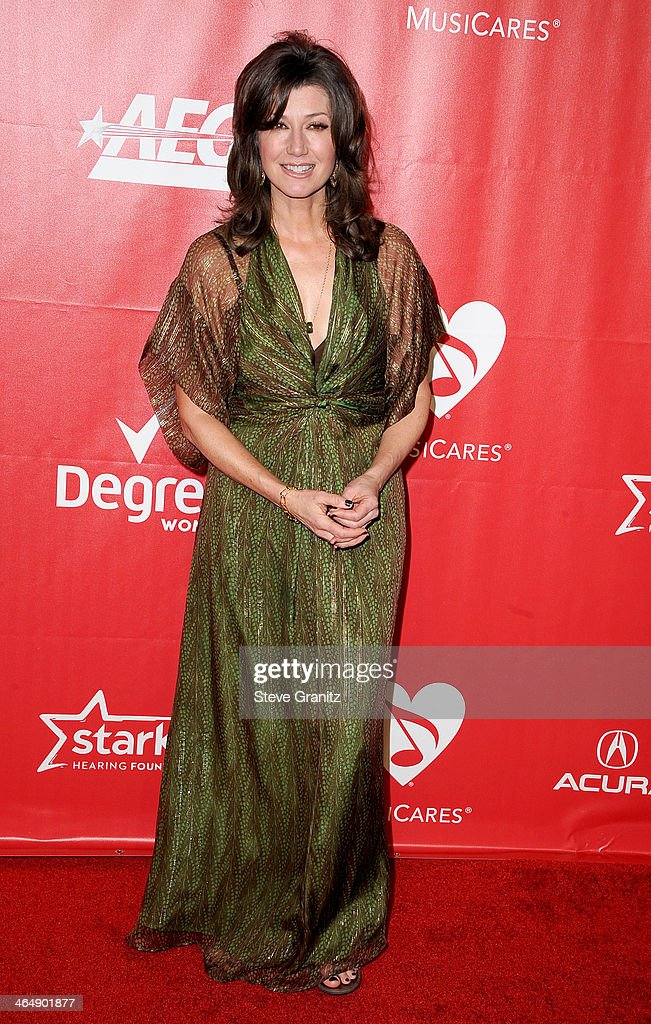 Singer Amy Grant attends 2014 MusiCares Person Of The Year Honoring Carole King at Los Angeles Convention Center on January 24 2014 in Los Angeles...