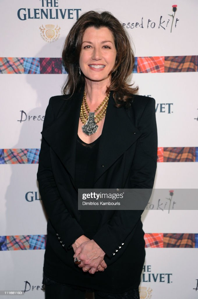 Singer Amy Grant attends the 9th annual Dressed to Kilt charity fashion show at the Hammerstein Ballroom on April 5 2011 in New York City