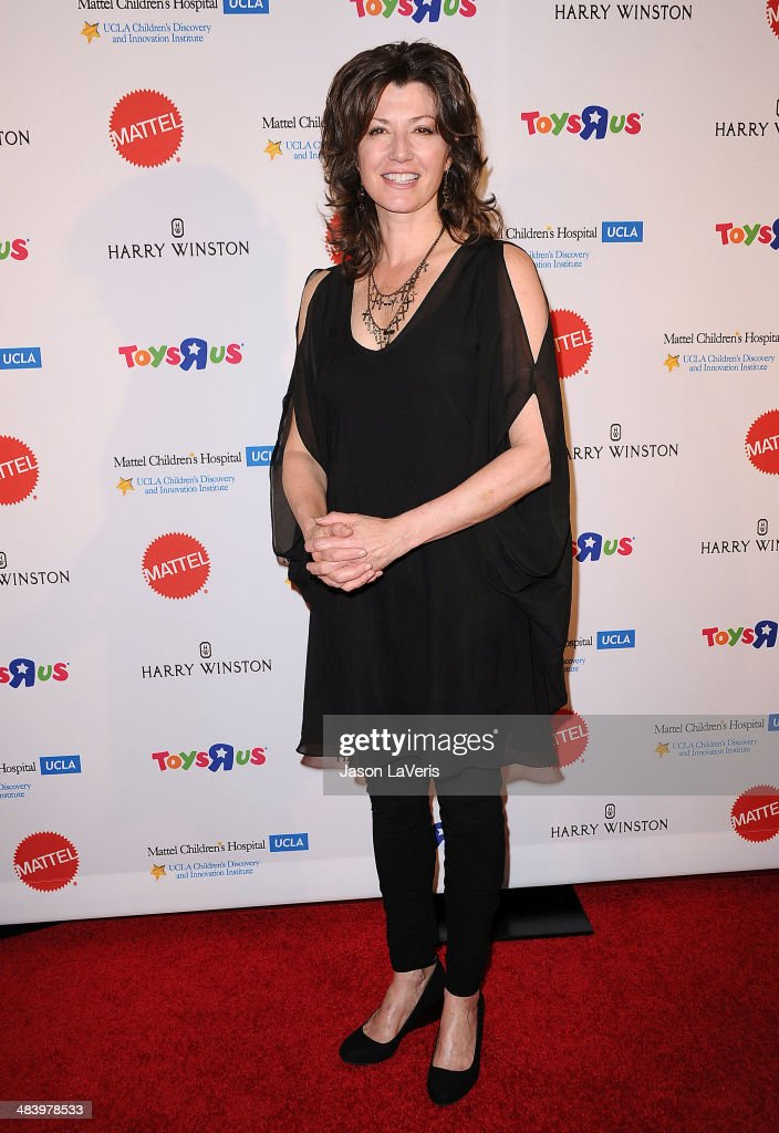 Singer Amy Grant attends the Kaleidoscope Ball at Beverly Hills Hotel on April 10 2014 in Beverly Hills California