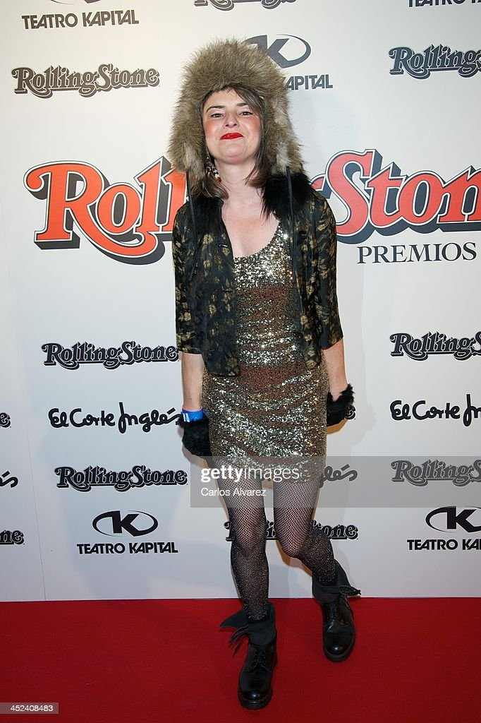 Singer Amy Jo Doherty attends the Rolling Stone Magazine Awards 2013 at the Kapital Club on November 28, 2013 in Madrid, Spain.