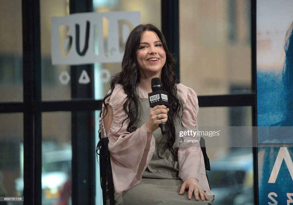 Singer Amy Lee attends Build Series at Build Studio on March 20, 2017 in New York City.