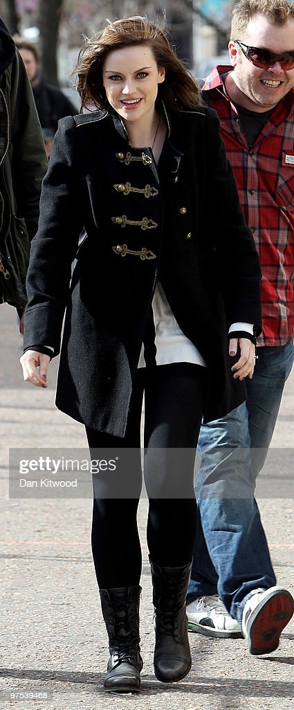 Celebrity Sightings In London - March 08, 2010