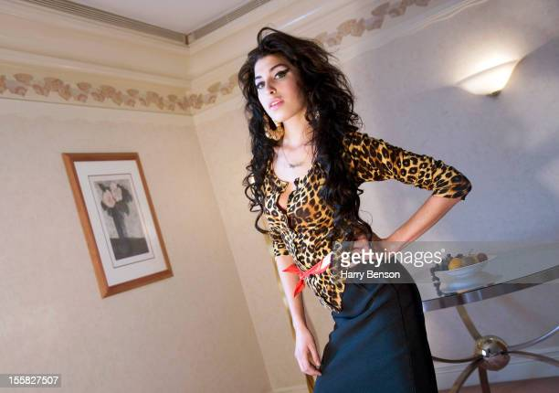 Singer Amy Winehouse is photographed for Self Assignment on August 10 2006 in New York City