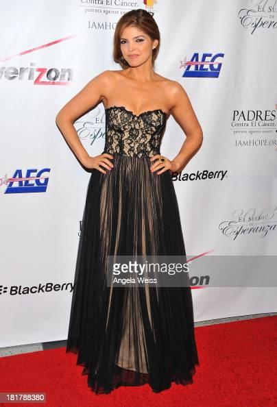 Singer Ana Barbara arrives at the Padres Contra El Cancer 13th annual 'El Sueno de Esperanza' gala on September 24 2013 in Los Angeles California