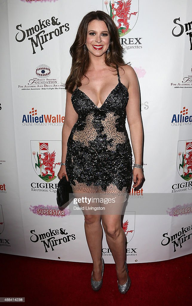 Singer Ana Cristina attends the Brent Shapiro Foundation for Alcohol and Drug Awareness' annual 'Summer Spectacular Under The Stars' at a private...