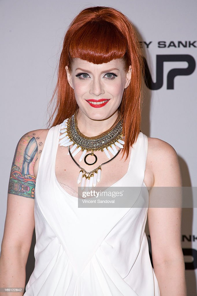 Singer Ana Matronic attends The White Party during Jeffrey Sanker Presents White Party Palm Springs 2013 - Day 2 at the Convention Center on March 30, 2013 in Palm Springs, California.