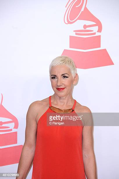 Singer Ana Torroja arrives at the 2013 Latin Recording Academy Person Of The Year Tribute Honoring Miguel Bose at the Mandalay Bay Convention Center...
