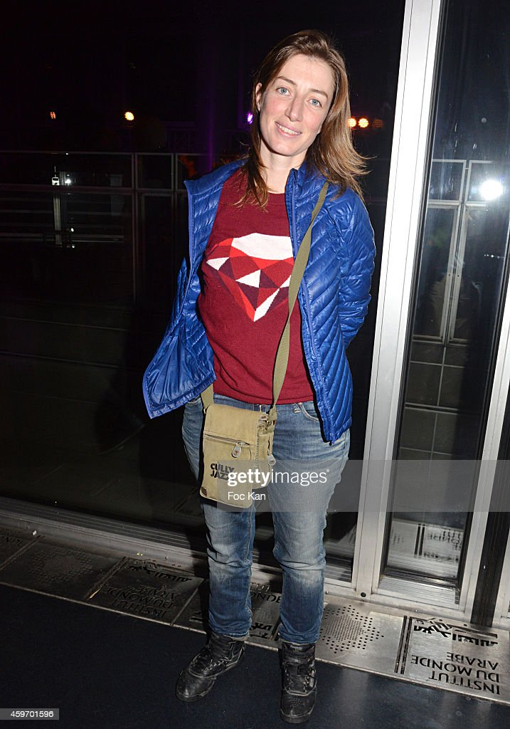 Singer Anais (Anais Croze) attends Les Dunes Electroniques Tunisian Musical Festival : Launch Party at Institut du Monde Arabe on November 28, 2014 in Paris, France.
