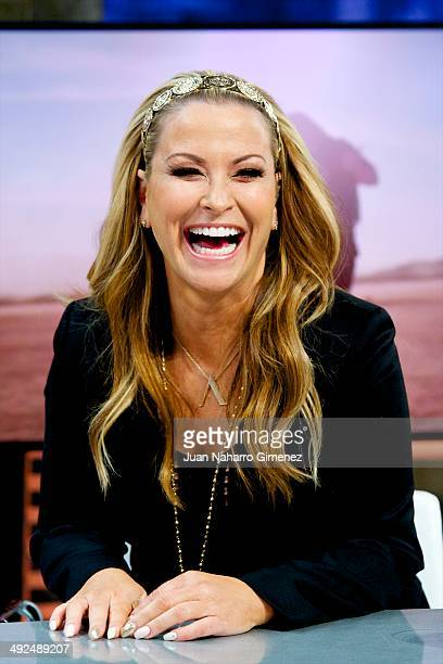 Singer Anastacia attends 'El Hormiguero' Tv show at Vertice 360 Studio on May 20 2014 in Madrid Spain