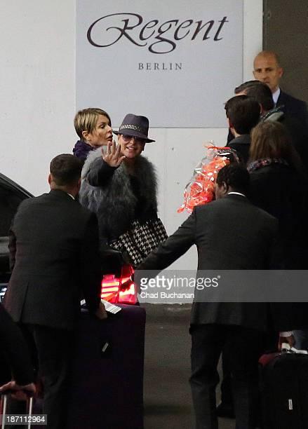 Singer Anastacia sighting on November 6 2013 in Berlin Germany