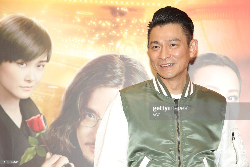 Singer and actor <a gi-track='captionPersonalityLinkClicked' href=/galleries/search?phrase=Andy+Lau&family=editorial&specificpeople=171171 ng-click='$event.stopPropagation()'>Andy Lau</a> attends the Chinese New Year Dinner Party of director Wong Jing's new movie 'From Vegas To Macau III' on February 18, 2016 in Hong Kong, China.