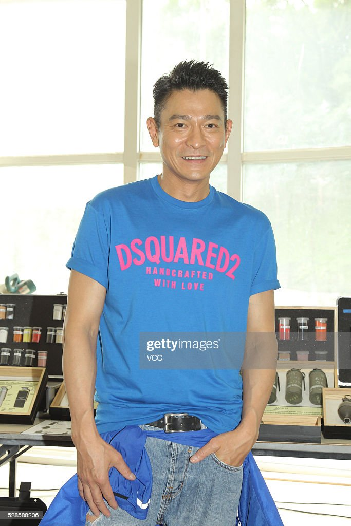 Singer and actor <a gi-track='captionPersonalityLinkClicked' href=/galleries/search?phrase=Andy+Lau&family=editorial&specificpeople=171171 ng-click='$event.stopPropagation()'>Andy Lau</a> poses at the shooting set on May 6, 2016 in Hong Kong, China.