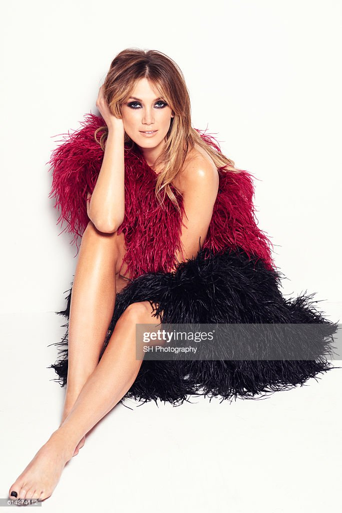 Singer and actor Delta Goodrem is photographed for Notion magazine on February 12, 2015 in London, England.