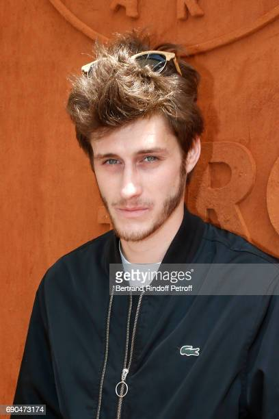 Singer and actor JeanBaptiste Maunier attends the 2017 French Tennis Open Day Four at Roland Garros on May 31 2017 in Paris France