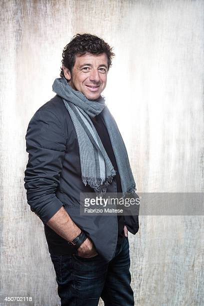 Singer and actor Patrick Bruel is photographed in Cannes France