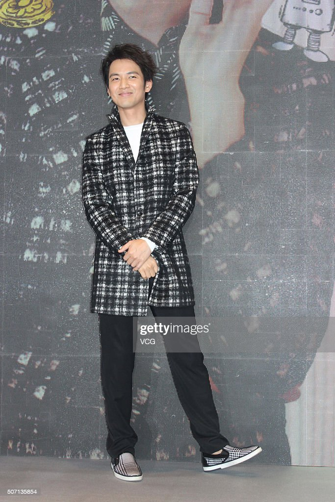 Wallace Chung Attends A Press Conference For Concert In Shanghai