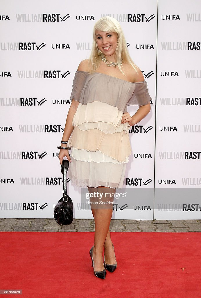 Singer and actress Annemarie Eilfeld attends the William Rast: Bread and Butter party at Silver Wings Club on July 1, 2009 in Berlin, Germany.