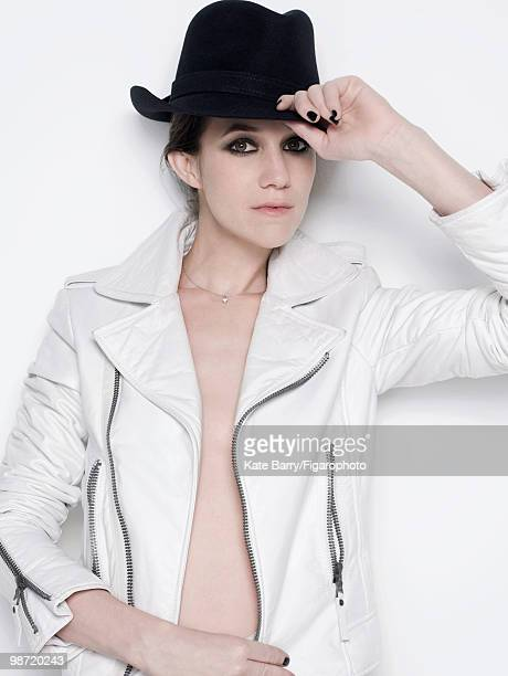 Singer and actress Charlotte Gainsbourg poses at a portrait session for Madame Figaro Magazine in 2009 PUBLISHED IMAGE CREDIT MUST READ Kate...