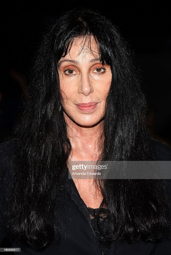 Singer and actress <a gi-track='captionPersonalityLinkClicked' href=/galleries/search?phrase=Cher+-+Performer&family=editorial&specificpeople=203036 ng-click='$event.stopPropagation()'>Cher</a> attends the Cycle For Heroes: A Rock Inspired Ride On Santa Monica Pier at Santa Monica Pier on September 11, 2013 in Santa Monica, California.