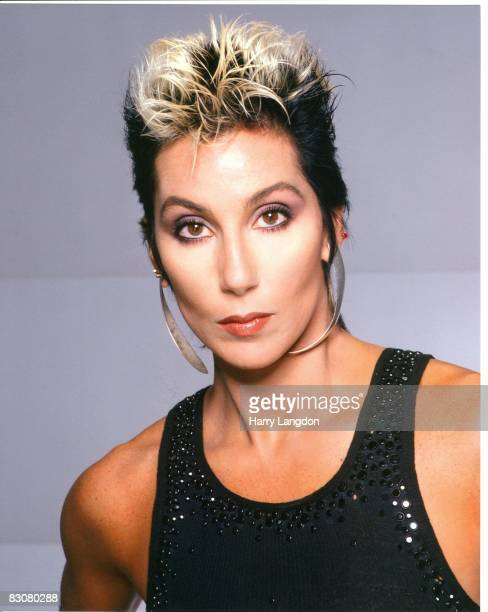 Singer and actress Cher poses for a fashion session in January 1984 in Los Angeles California