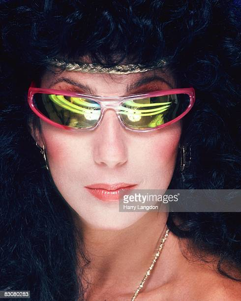 Singer and actress Cher poses for an Album Cover session for 'I Paralyze' on Casablanca Records in July 1982 in Los Angeles California