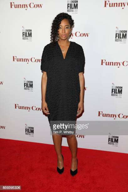 Singer and actress Corinne Bailey Rae attends the World Premiere of 'Funny Cow' during the 61st BFI London Film Festival on October 9 2017 in London...