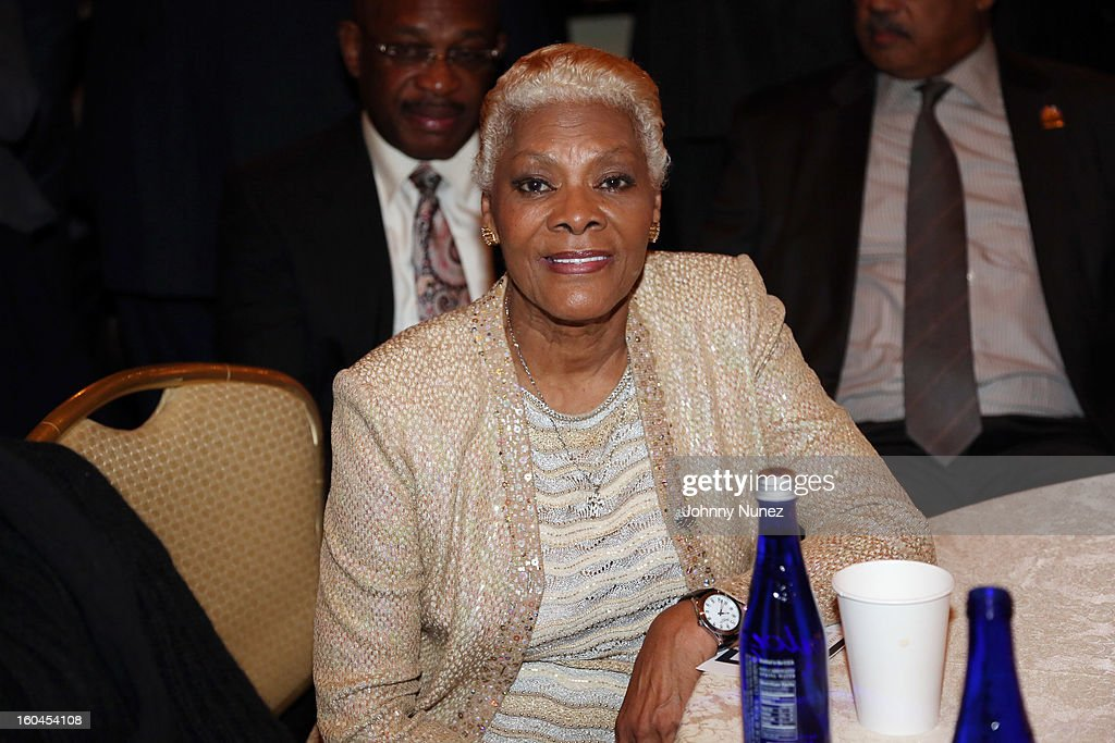 Singer and actress <a gi-track='captionPersonalityLinkClicked' href=/galleries/search?phrase=Dionne+Warwick&family=editorial&specificpeople=213111 ng-click='$event.stopPropagation()'>Dionne Warwick</a> attends The 16th Annual Wall Street Project 'Access To Captial' Luncheon at The Roosevelt Hotel on January 31, 2013, in New York City.