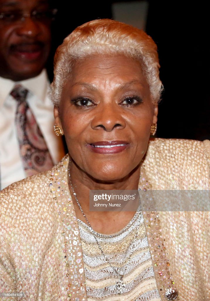 Singer and actress Dionne Warwick attends The 16th Annual Wall Street Project 'Access To Captial' Luncheon at The Roosevelt Hotel on January 31, 2013, in New York City.