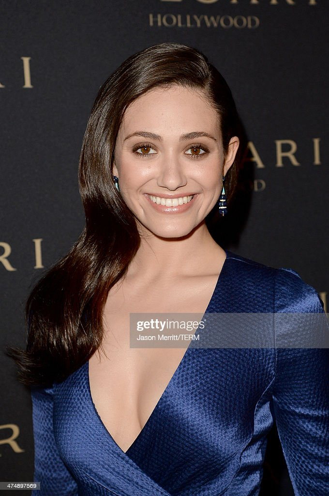 Singer and actress Emmy Rossum attends 'Decades of Glamour' presented by BVLGARI on February 25, 2014 in West Hollywood, California.