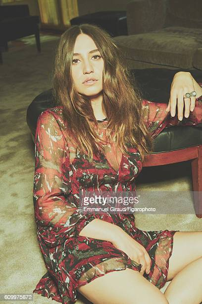 Singer and actress Izia Higelin is photographed for Madame Figaro on June 9 2016 in Paris France Dress ring PUBLISHED IMAGE CREDIT MUST READ Emmanuel...