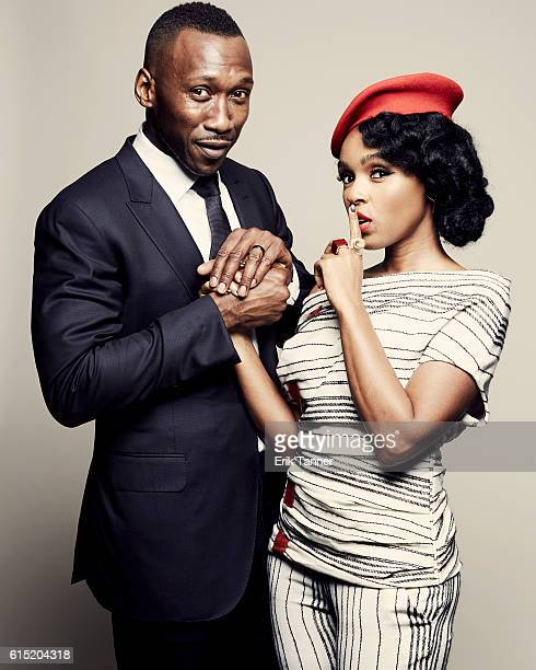 Singer and actress Janelle Monae and actor Mahershala Ali pose for a portrait during the 54th New York Film Festival at Lincoln Center on October 2...