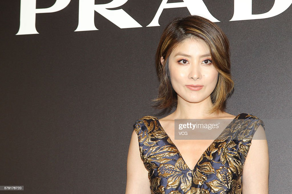 Singer and actress Kelly Chen attends an opening event of Prada on July 22, 2016 in Hong Kong, China.