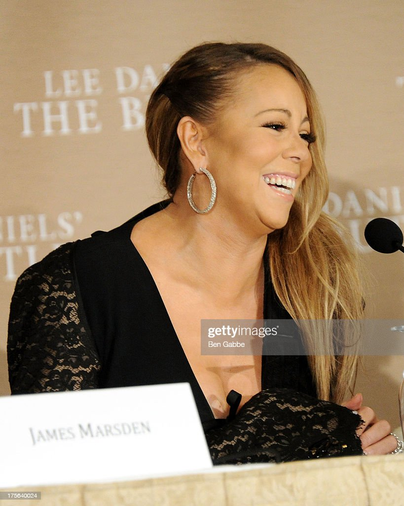 Singer and actress <a gi-track='captionPersonalityLinkClicked' href=/galleries/search?phrase=Mariah+Carey&family=editorial&specificpeople=171647 ng-click='$event.stopPropagation()'>Mariah Carey</a> attends the press conference for The Weinstein Company's LEE DANIELS' THE BUTLER at Waldorf Astoria Hotel on August 5, 2013 in New York City.
