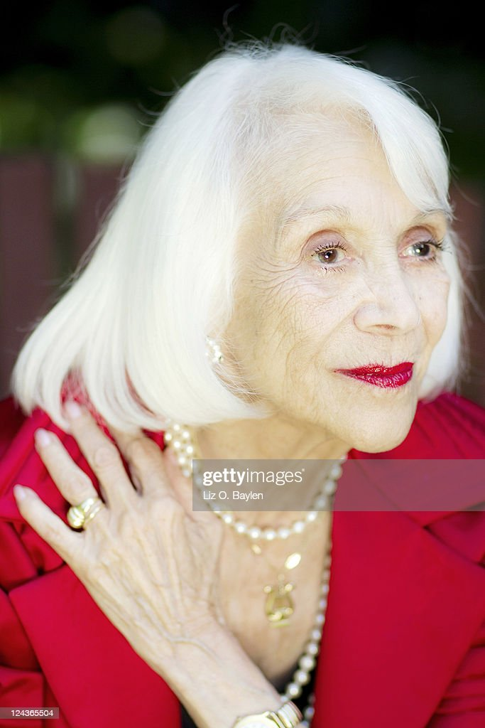 Singer and actress Monica Lewis for Los Angeles Times on May 23, 2011 in Northridge - singer-and-actress-monica-lewis-for-los-angeles-times-on-may-23-2011-picture-id124365504