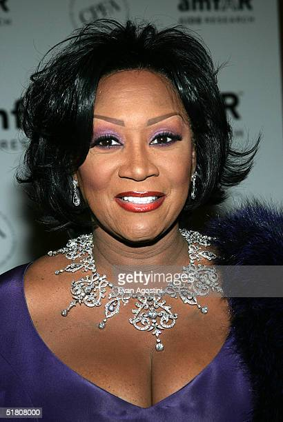 Singer and AIDS activist Patti LaBelle attends the amfAR New York Gala on November 30 2004 at The Pierre Hotel in New York City Singer and AIDS...