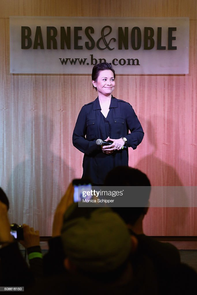 Singer and 'Allegiance' cast member <a gi-track='captionPersonalityLinkClicked' href=/galleries/search?phrase=Lea+Salonga&family=editorial&specificpeople=2179610 ng-click='$event.stopPropagation()'>Lea Salonga</a> promotes the original Broadway cast recording of 'Allegiance' at at Barnes & Noble, 86th & Lexington on February 5, 2016 in New York City.