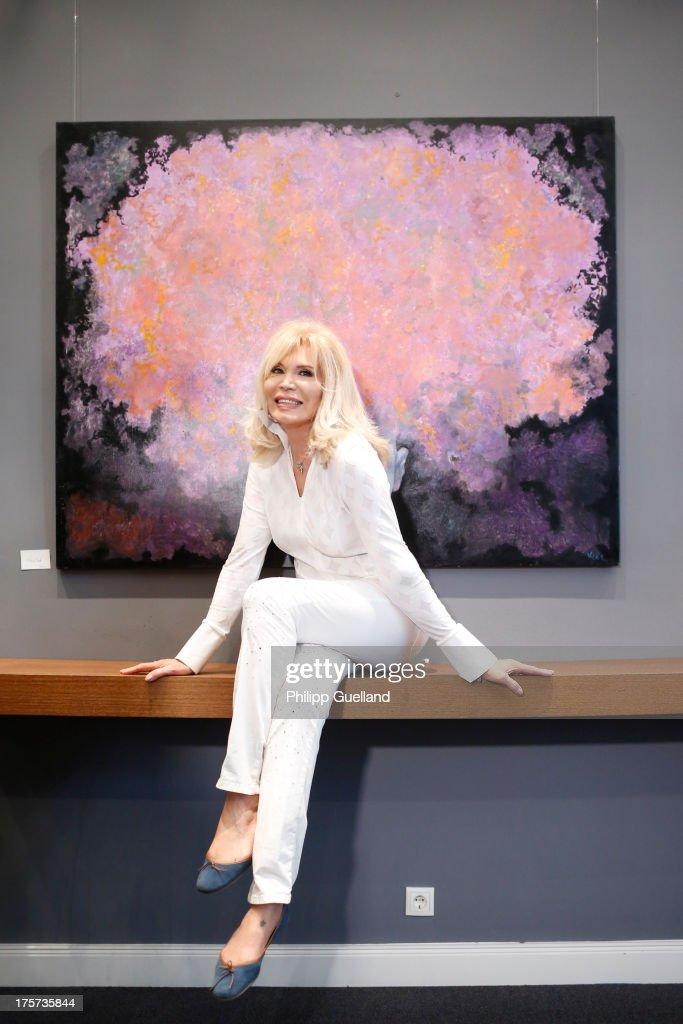Amanda Lear Exhibition Opening