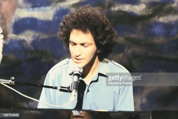 Singer And Composer Michel Berger In The Seventies