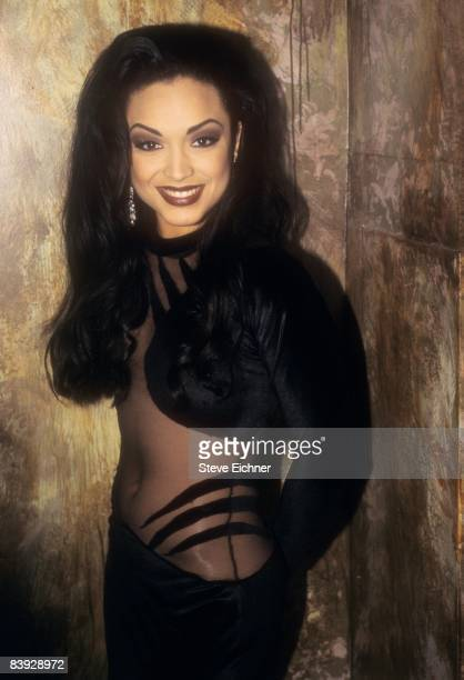 Singer and dancer Mayte the former wife of musician Prince at the Palladium 1992 New York