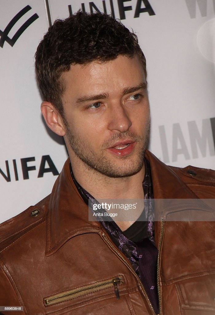 Singer and designer Justin Timberlake arrives to visit the fashion show of his label 'William Rast' during the Bread and Butter fashion trade fair at the Silver Wings Club on July 1, 2009 in Berlin, Germany.