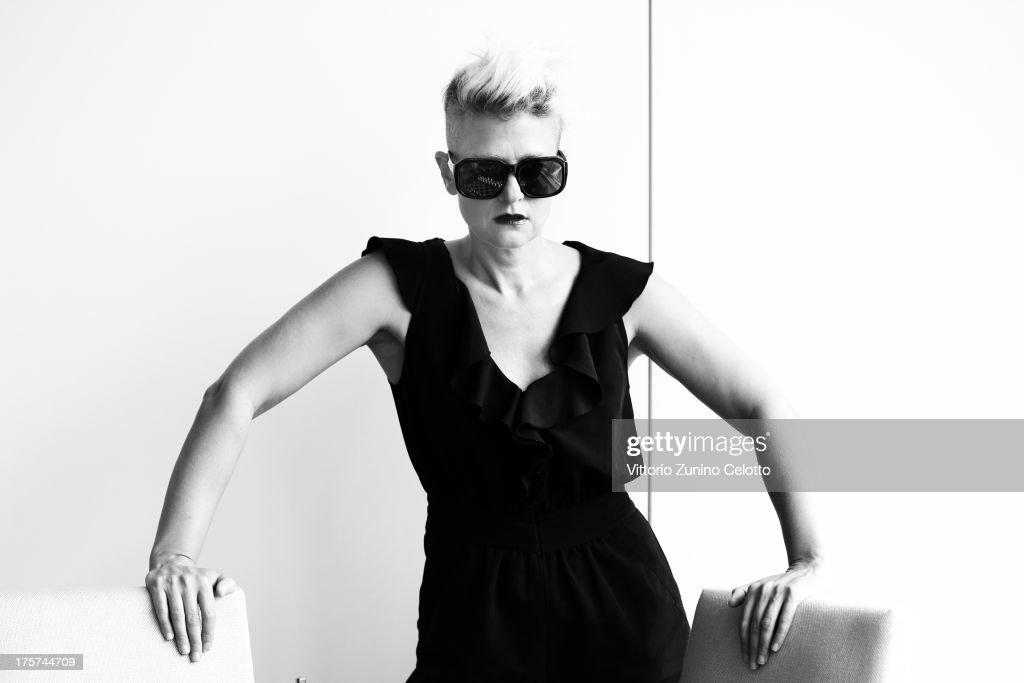 Singer and Director Peaches poses during the 66th Locarno Film Festival on August 7, 2013 in Locarno, Switzerland.