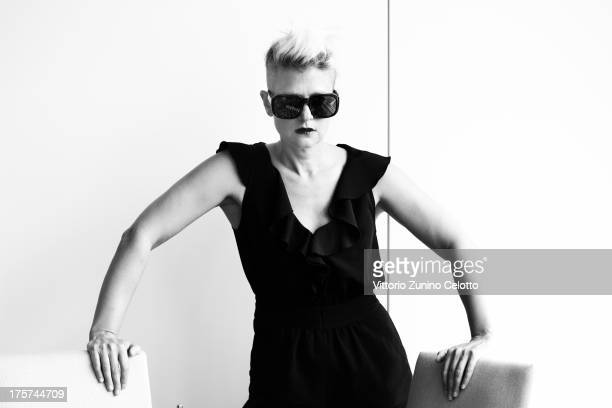Singer and Director Peaches poses during the 66th Locarno Film Festival on August 7 2013 in Locarno Switzerland
