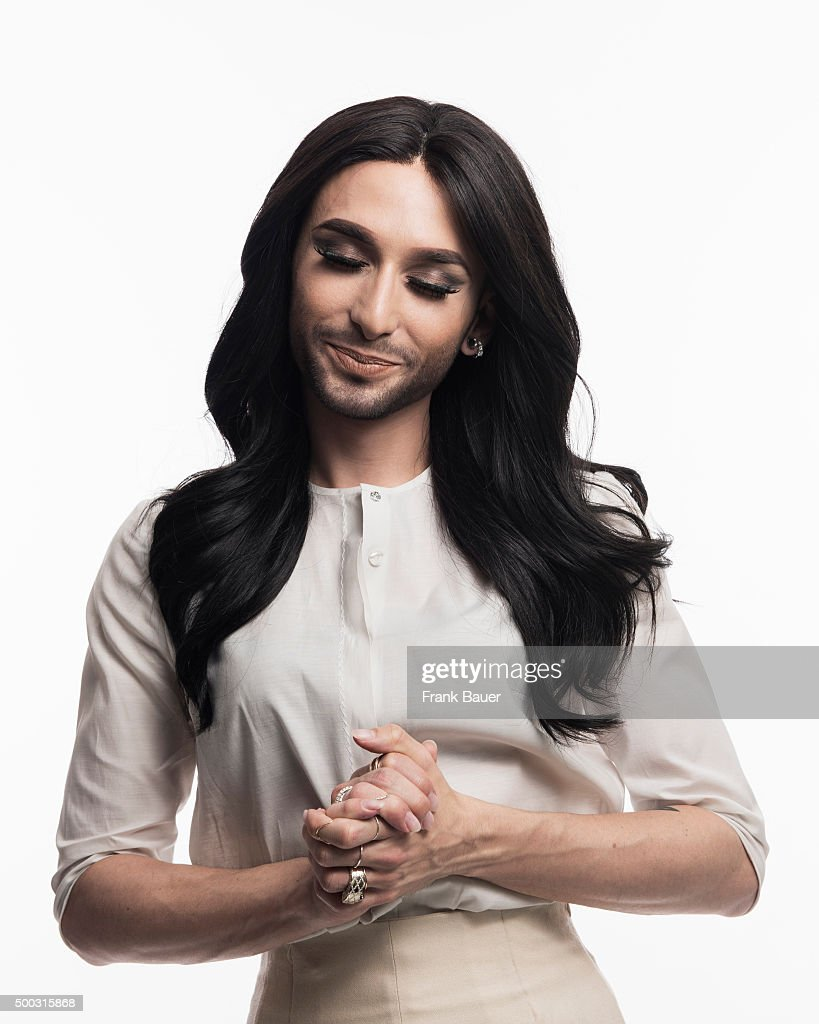 Singer and drag queen Conchita Wurst aka Thomas Neuwirth is photographed for SonntagsZeitung on February 27, 2015 in Munich, Germany.